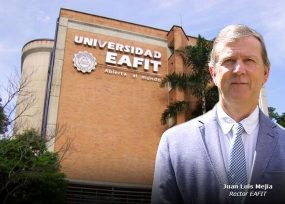 El rector Juan Luis Mejía se da la pela: abre el campus de Eafit
