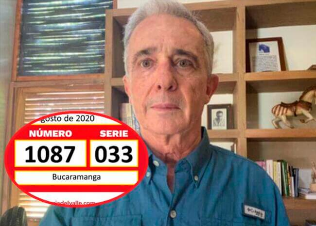 Macondiano: cayó la lotería con el número de preso de Uribe