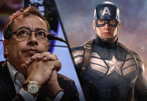 El Capitán América es Petro: la útima ridiculez de los fans de la Colombia Humana