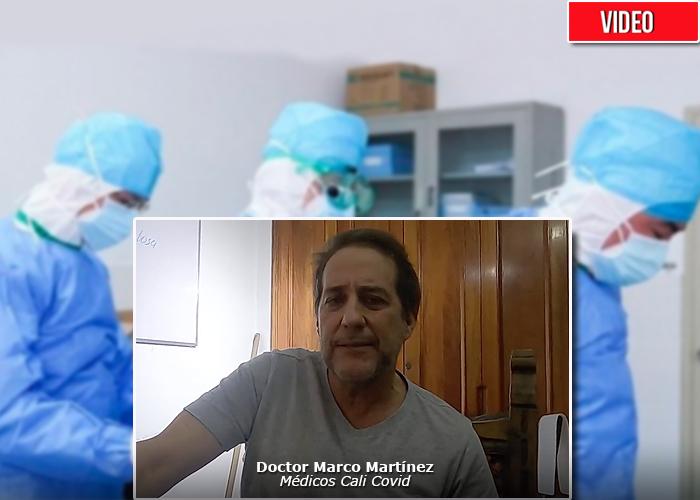 Cincuenta médicos de Cali se unen para enfrentar el Covid-19