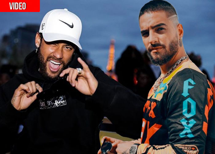 La traición de Neymar a Maluma