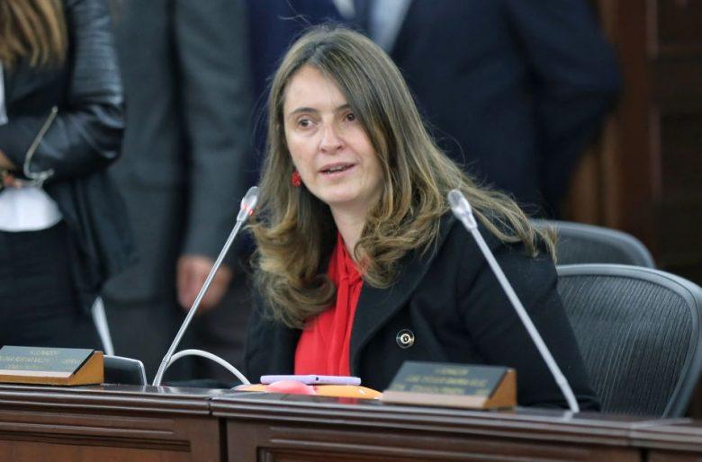 Crítica de Paloma Valencia al gobierno de Iván Duque