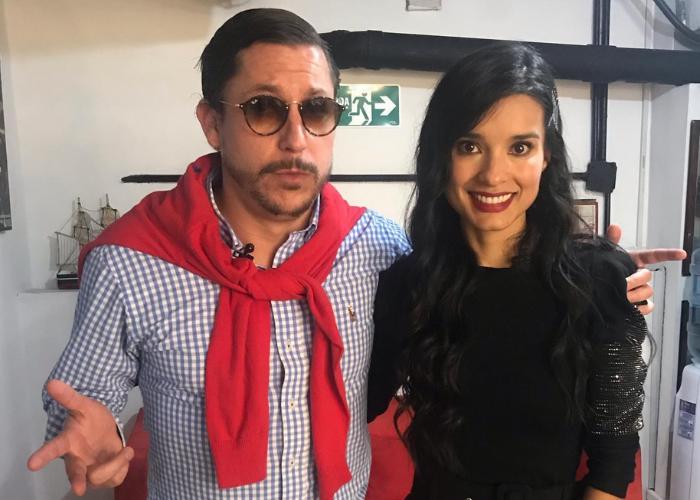 ¡Le voló las gafas! Tremenda cachetada de Paola Rey a Juanpis Gonzalez