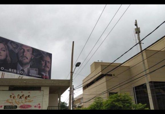 Ponen valla del Robo del Siglo ¡Frente al Banco de la República de Valledupar!