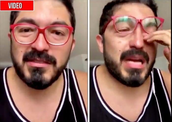 La felicidad de los antiuribistas al ver a Oswaldo Ortiz llorar