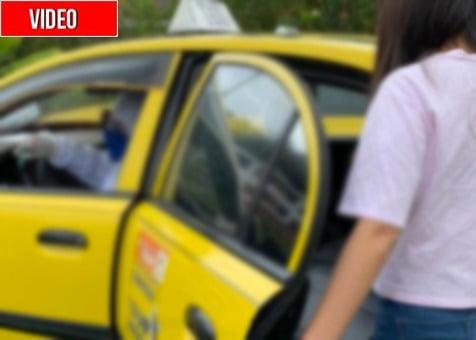 Taxista se masturba frente a pasajera en Medellín