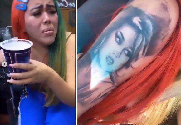 Yina Calderón se cree heredera de Amy Winehouse