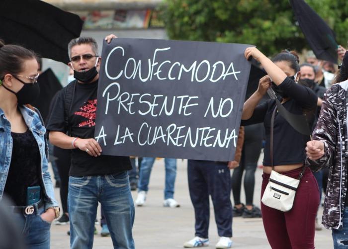 La furia de los comerciantes de San Victorino contra Claudia López