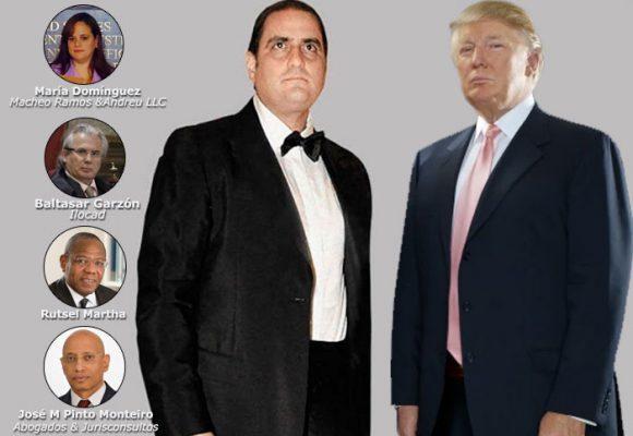 Cinco poderosos abogados buscan que Alex Saab no caiga en manos de Trump