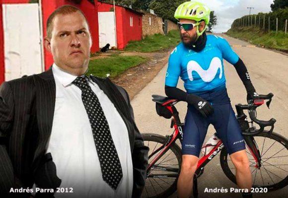 La pasión escondida de Andrés Parra: pedalear