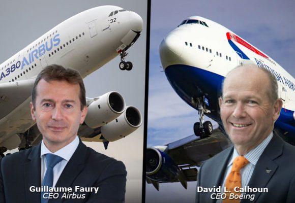 La puja entre Boeing y Airbus en medio de la pandemia