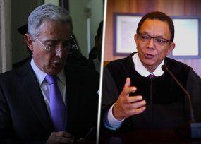 Uribe acepta con humildad la privación de su libertad