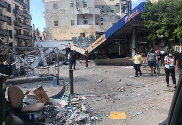 Explosiones en Beirut dejan una ciudad devastada y atónita