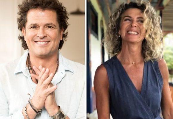 Coqueteo entre Margarita Rosa de Francisco y su ex Carlos Vives