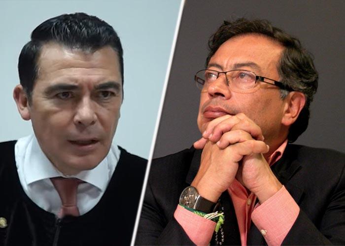 Petro, otro investigado por el magistrado Reyes, que acusó a Uribe - Las2orillas