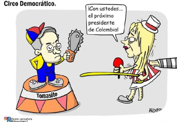 Caricatura: Circo democrático