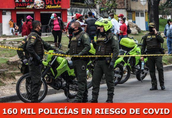 Duplicados casos y muertes por Covid-19 en la policía