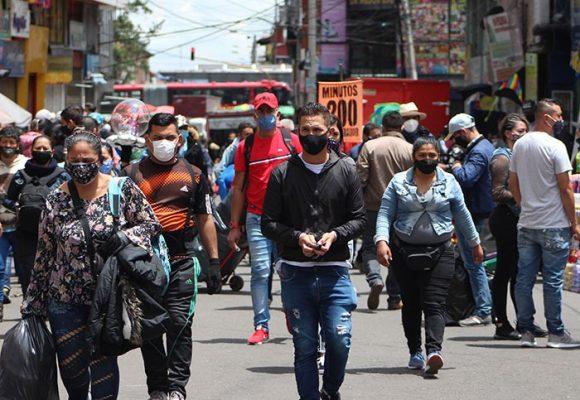 7.230 nuevos contagios y 284 fallecidos más por COVID-19 en Colombia