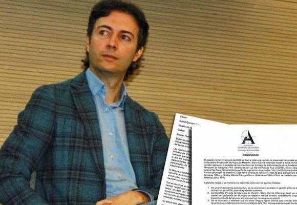 Los paisas siguen dejando solo al Alcalde de Medellín