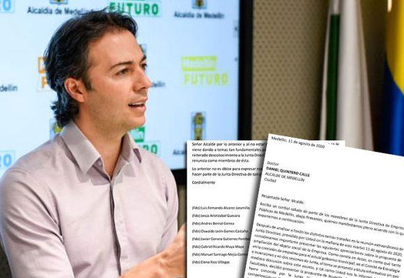 EPM queda a la deriva: renuncia de la Junta Directiva en pleno