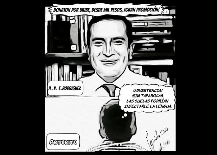 Caricatura: Ni a Uribe le gustó la idea de Edward Rodríguez