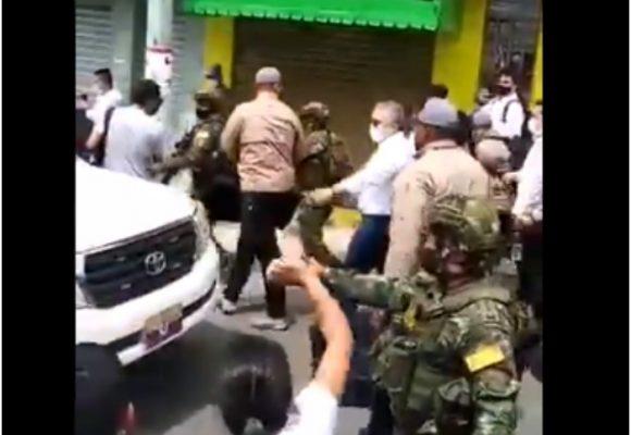 VIDEO: Duque confunde abucheo con vítores en Samaniego