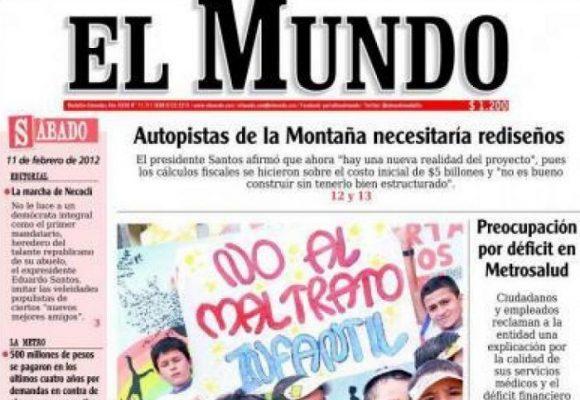 ¡Un clamor por el periódico El Mundo!