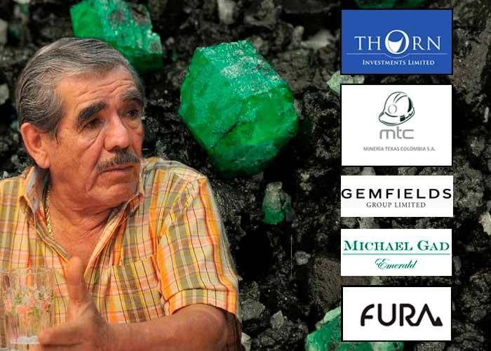 Cinco empresas extranjeras se llevan las mejores esmeraldas de Colombia