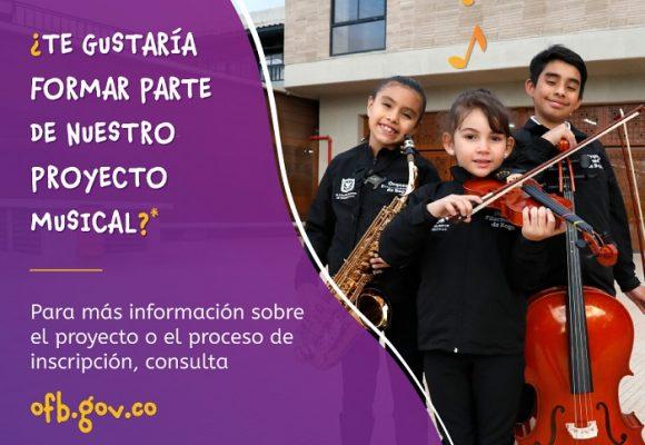 Ya están abiertas las inscripciones para los centros filarmónicos locales de Bogotá
