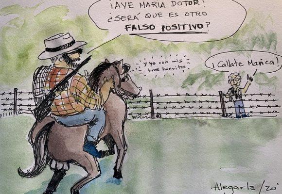 Caricatura: ¿Falso positivo?