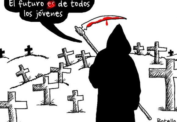 Caricatura: El futuro de todos los jóvenes