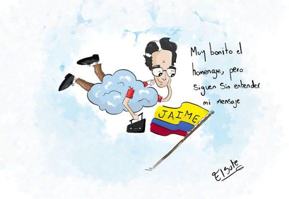 Caricatura: Veintiún años y el mensaje sigue vivo