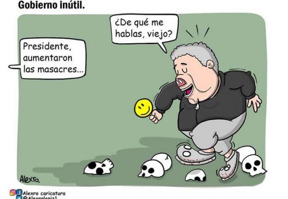 Caricatura: Gobierno inútil