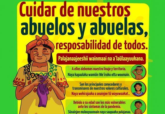 La Guajira se protege cuidando a sus abuelos y abuelas