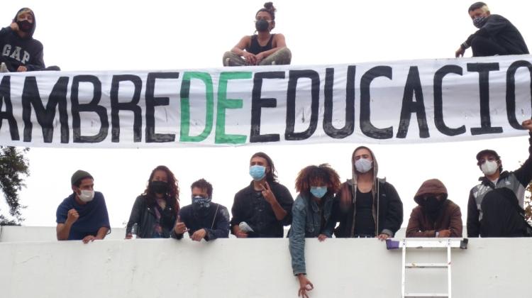 Que vivan los estudiantes, que viva la Nacional