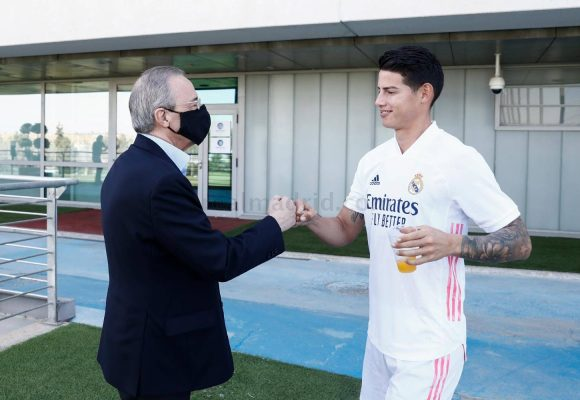 El último desprecio del Real Madrid con James Rodríguez