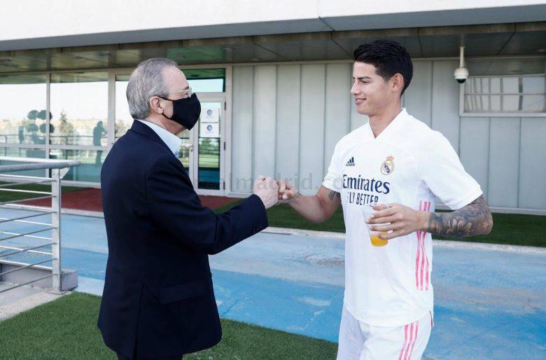 El último desprecio del Real Madrid con James Rodríguez