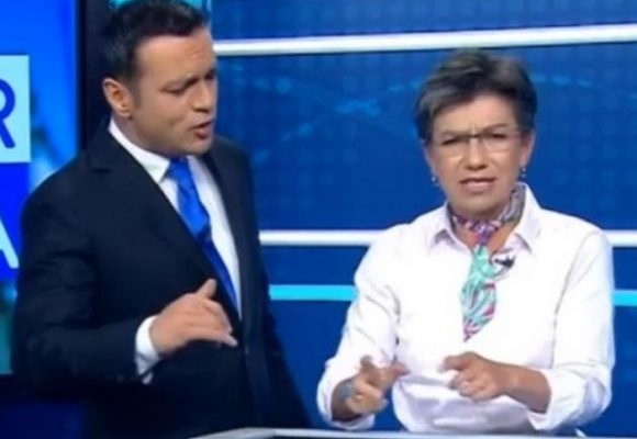 Juan Diego Alvira critica a Claudia López