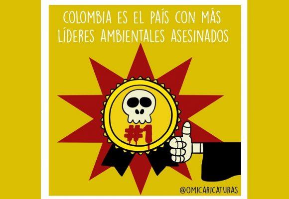 Caricatura: Otro deshonroso título para Colombia...