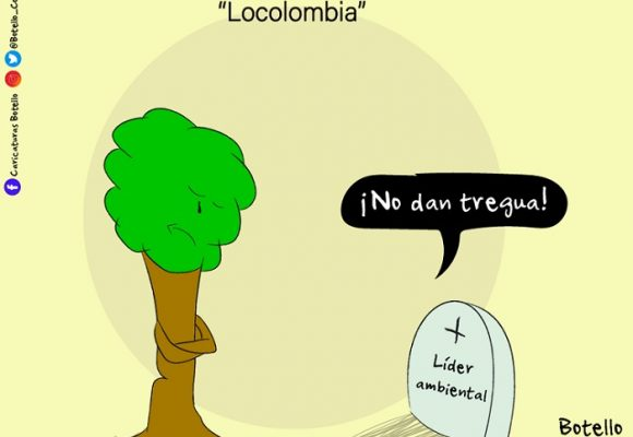 Caricatura: Locolombia