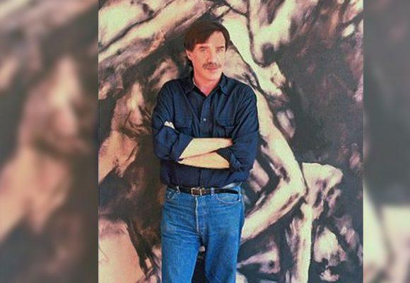 Luis Caballero en la intimidad de su estudio en París