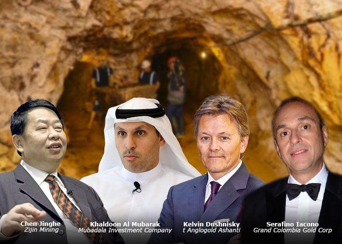 Cuatro compañías extranjeras dueñas del oro que sale de Colombia