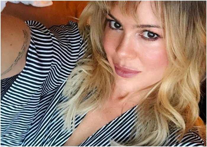Natalia París: desnuda y hermosa a sus 47 años