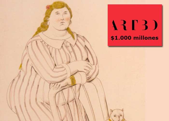 Un Botero de $1.000 millones está para la venta en la subasta ARTBO