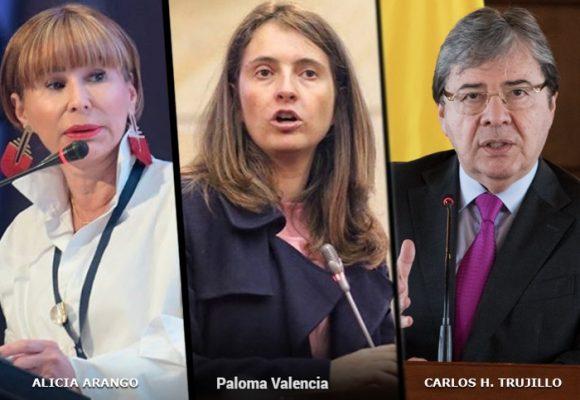Paloma Valencia toma distancia del gobierno Duque: al banquillo 2 ministros
