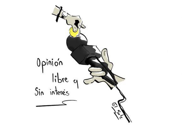 Caricatura: ¿Para cuándo una prensa realmente libre e independiente?