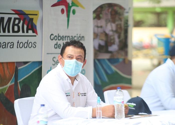 """Di positivo para la COVID"": gobernador de Nariño"