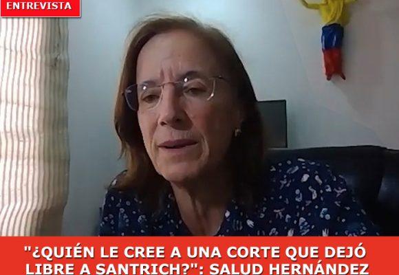 """""""A Uribe no lo entierra nadie"""": Salud Hernández"""