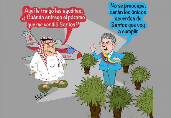 Caricatura: ¿Qué pasará con Santurbán?