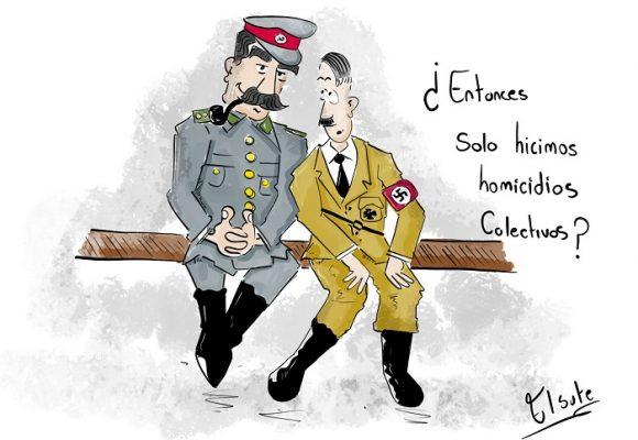 Caricatura: Términos de sangre